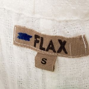 Flax Pants - Flax linen S casual pants white breathable NWOT